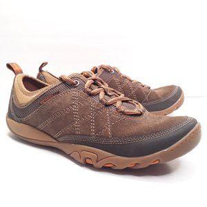 Merrell Mimosa Glee Mocha Brown Walking Trail Shoe